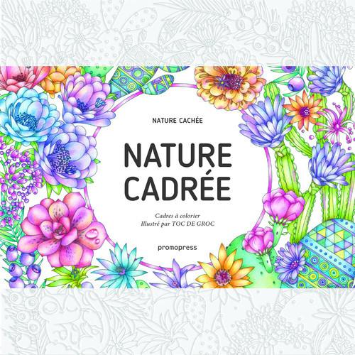 NATURE CADREE - CADRES A COLORIER