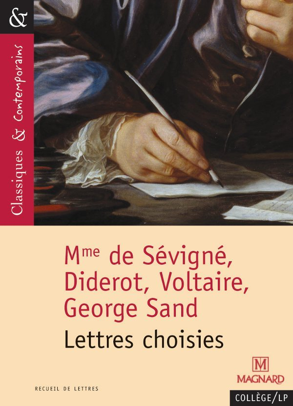 N.122 LETTRES CHOISIES (DIDEROT SEVIGNE SAND VOLTAIRE)