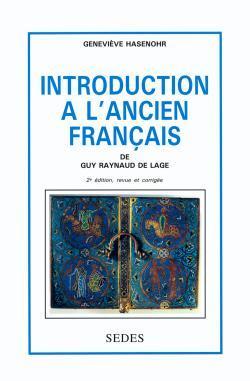 INTRODUCTION A L'ANCIEN FRANCAIS