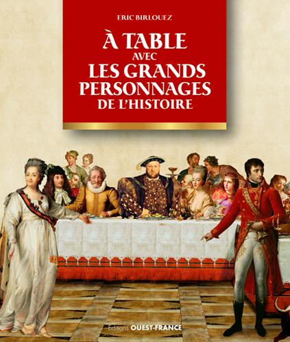 A TABLE AVEC LES PERSONNAGES DE L'HISTOIRE
