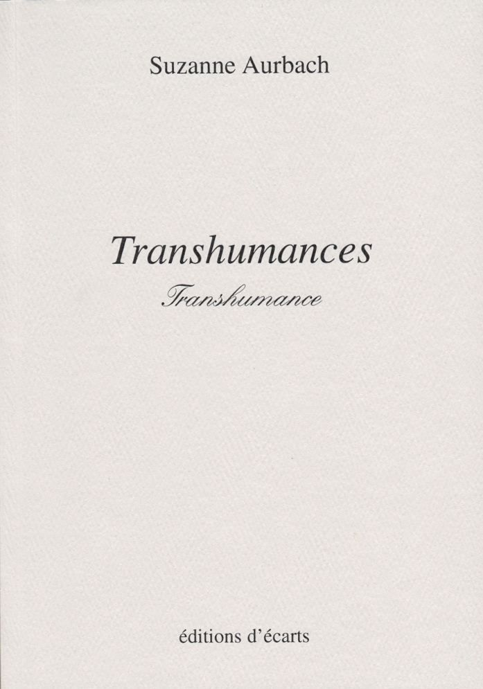 TRANSHUMANCES, TRANSHUMANCE