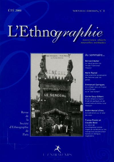ETHNOGRAPHIE N 1 (OBJETS METH)
