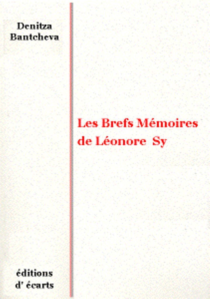 LES BREFS MEMOIRES DE LEONORE SY