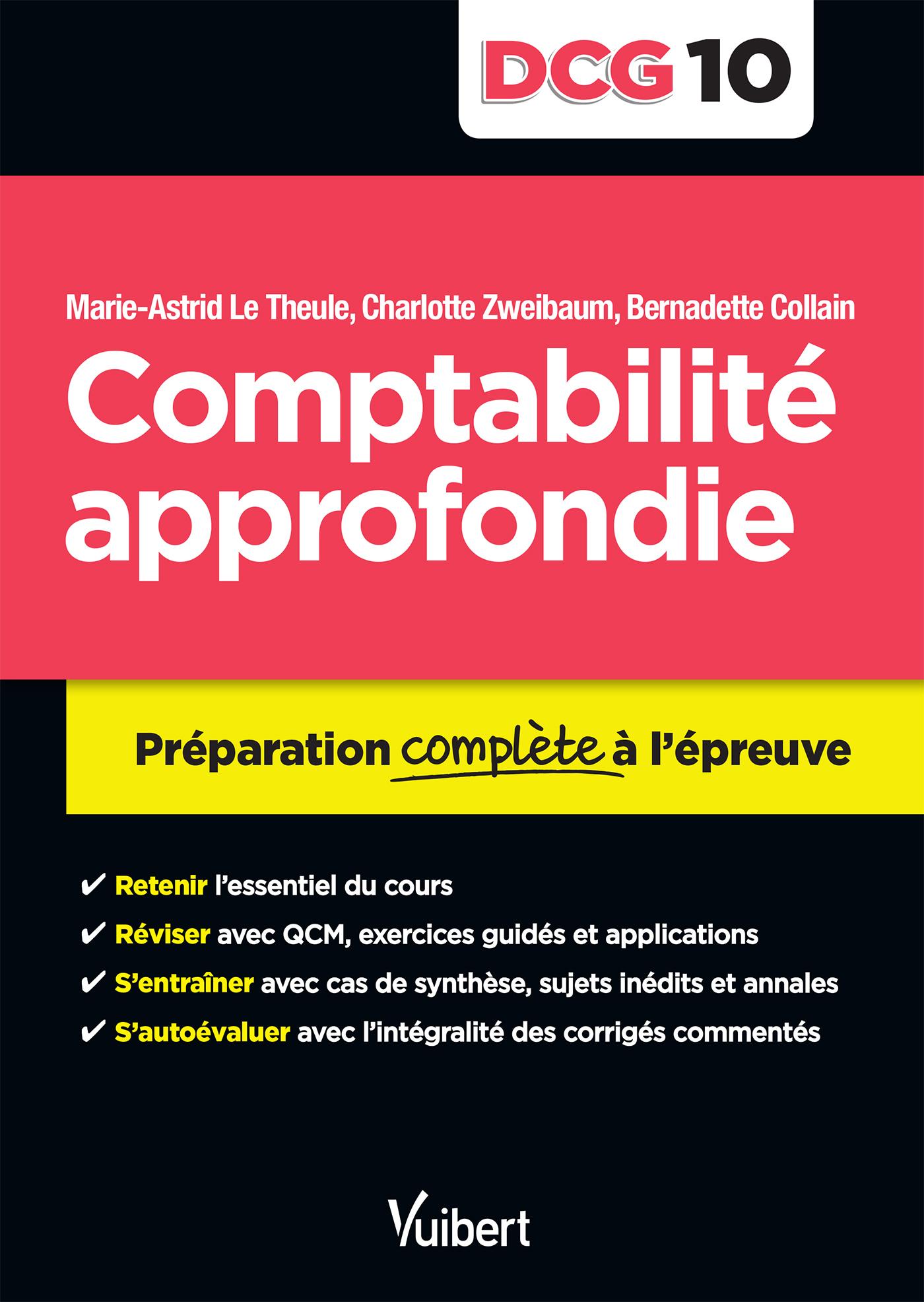 DCG 10 COMPTABILITE APPROFONDIE