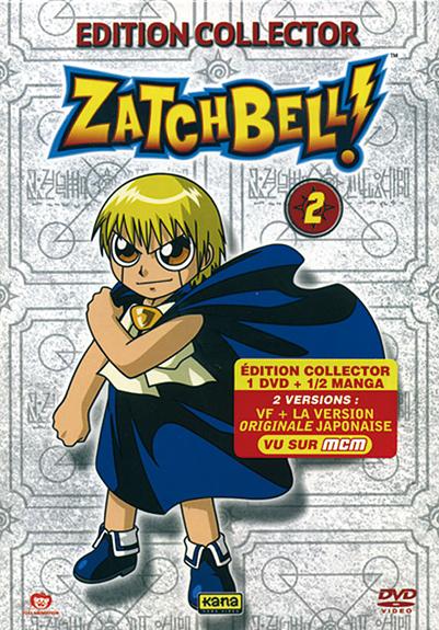 ZATCHBELL - VOLUME 2 - EDITION COLLECTOR AVEC 1/2 MANGA 1B