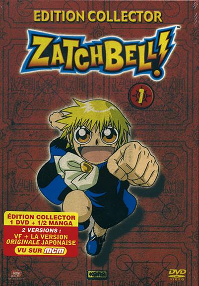 ZATCHBELL - VOLUME 1 - EDITION COLLECTOR AVEC 1/2 MANGA 1A