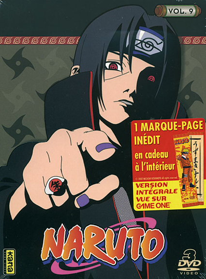 NARUTO - VOLUME 9 - 3 DVD