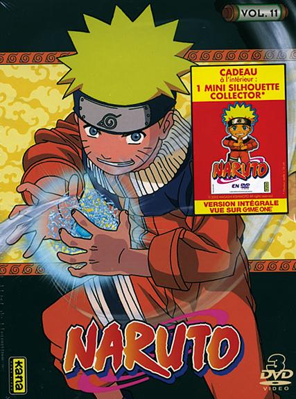 NARUTO - VOLUME 11 - 3 DVD