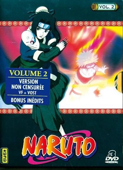 NARUTO - VOLUME 2 - 3 DVD