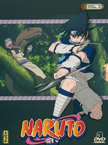 NARUTO - VOLUME 3 - 3 DVD