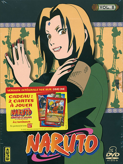 NARUTO - VOLUME 8 - 3 DVD