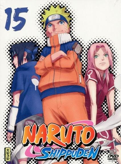 DVD NARUTO SHIPPUDEN V15 - COFFRET 3 DVD