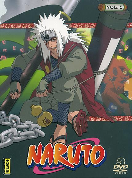 NARUTO V5 - 3 DVD