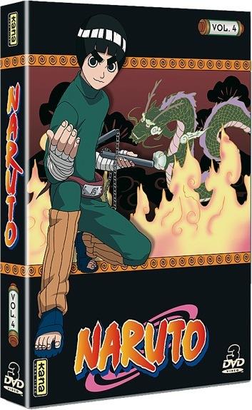 NARUTO V4 - 3 DVD