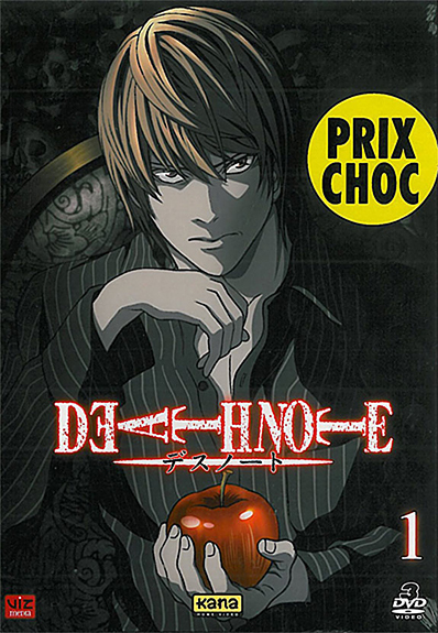 DEATH NOTE COFFRET 3 DVD VOL 1