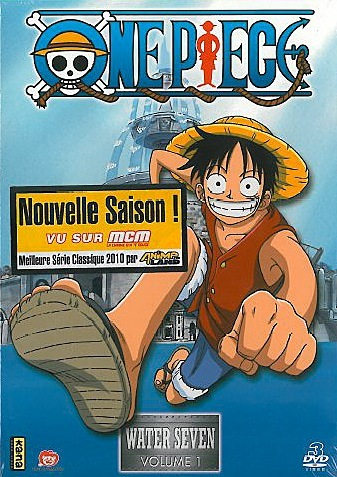 DVD ONE PIECE : WATER SEVEN VOL 1 - COFFRET 3 DVD -