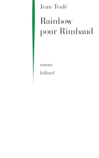 RAINBOW POUR RIMBAUD - NE