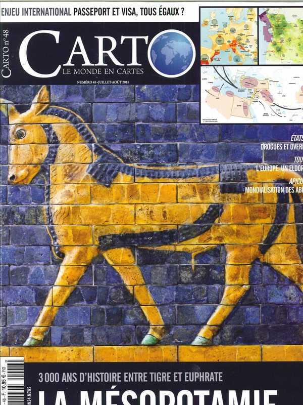 CARTO N 48 MESOPOTAMIE - JUILLET/AOUT 2018