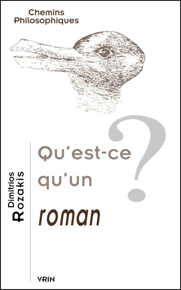 QU EST-CE QU UN ROMAN?