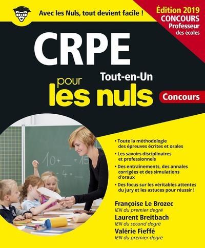 CRPE TOUT-EN-UN POUR LES NULS CONCOURS 4E EDITION