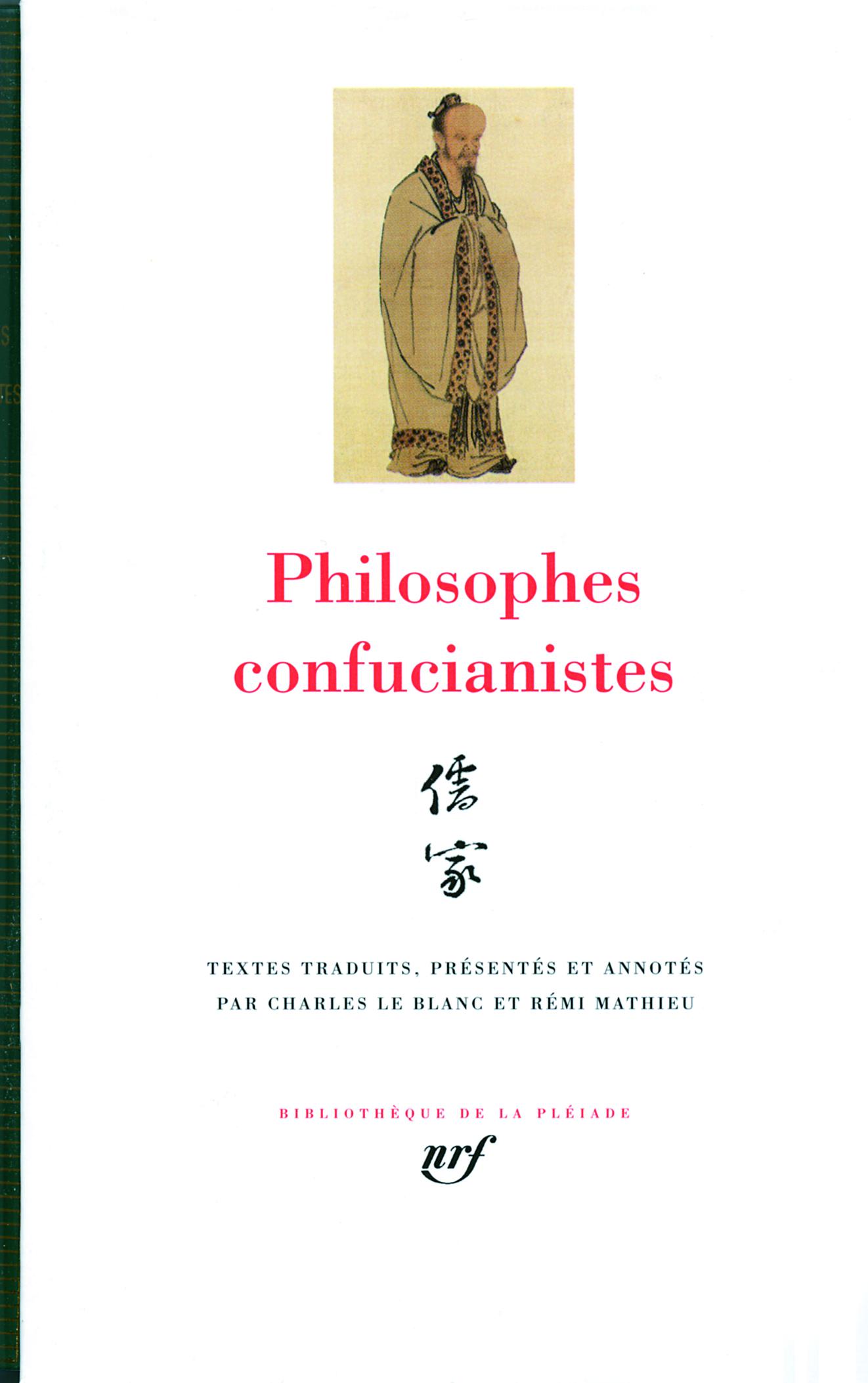 PHILOSOPHES CONFUCIANISTES