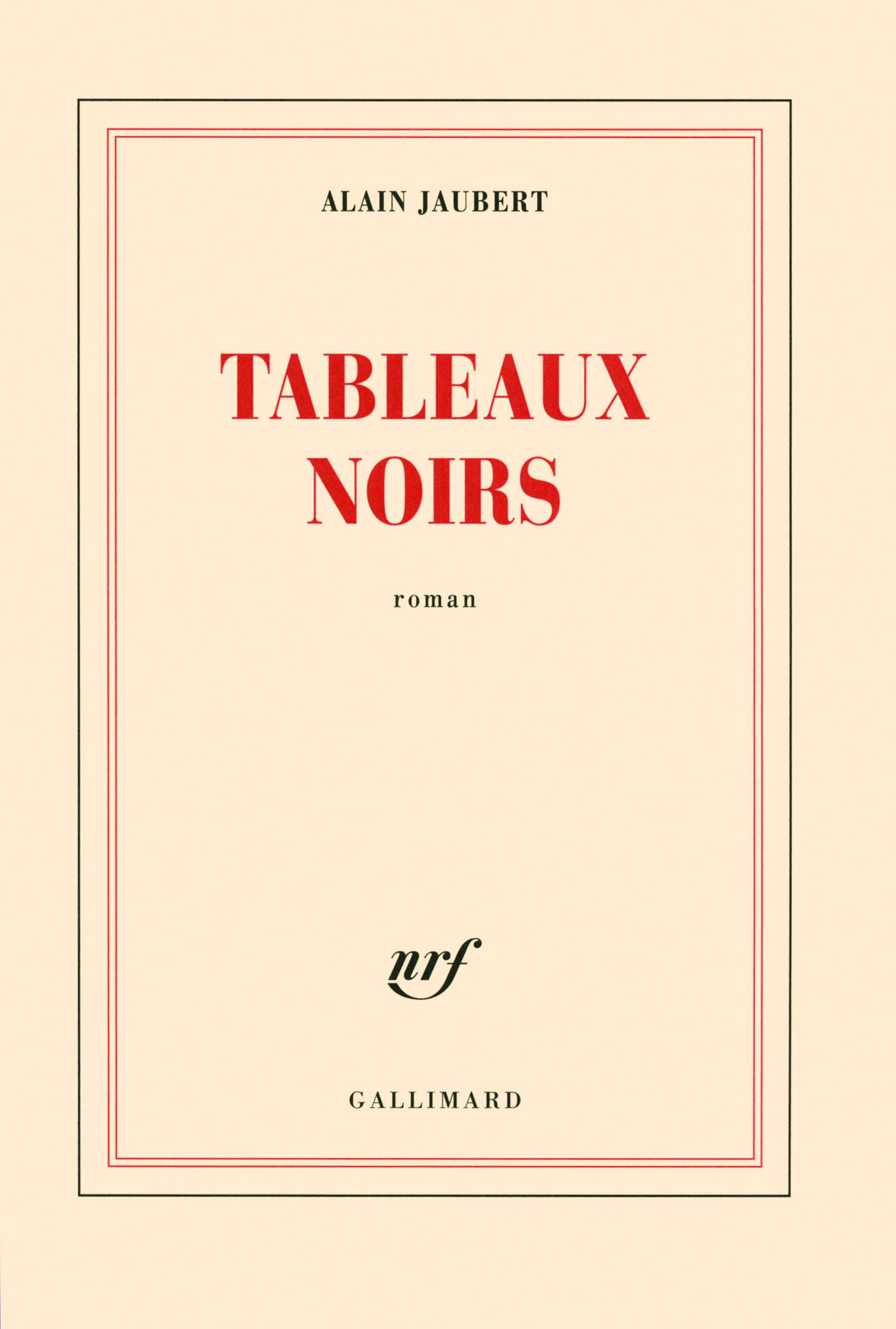 TABLEAUX NOIRS ROMAN