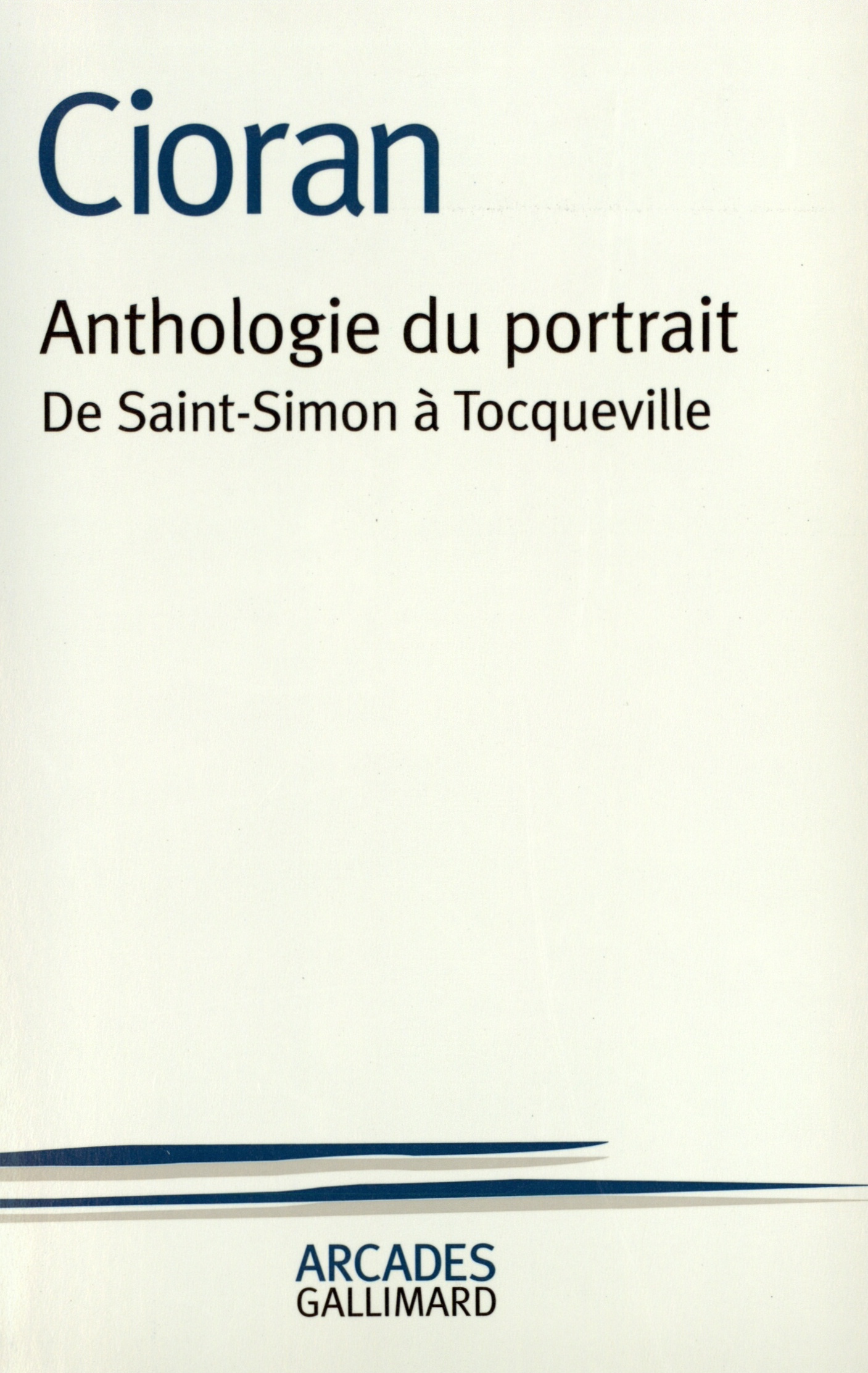 ANTHOLOGIE DU PORTRAIT