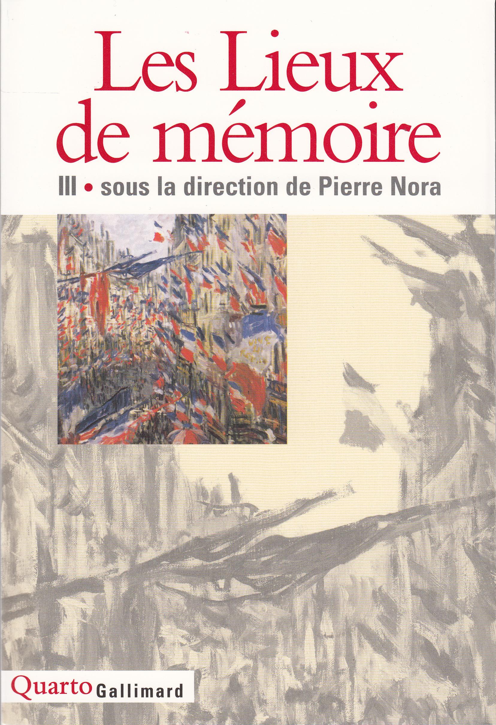 LES LIEUX DE MEMOIRE T3