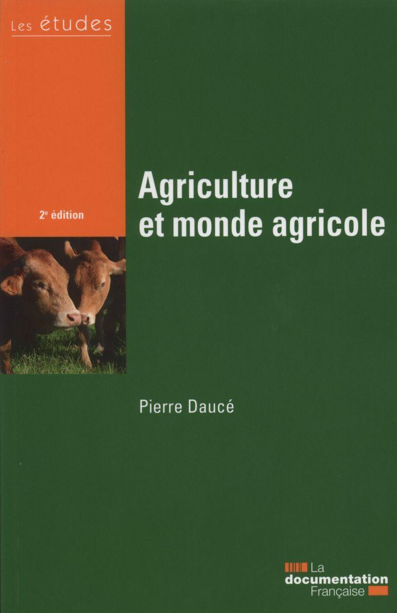 AGRICULTURE ET MONDE AGRICOLE- LES ETUDES N  5412-13.
