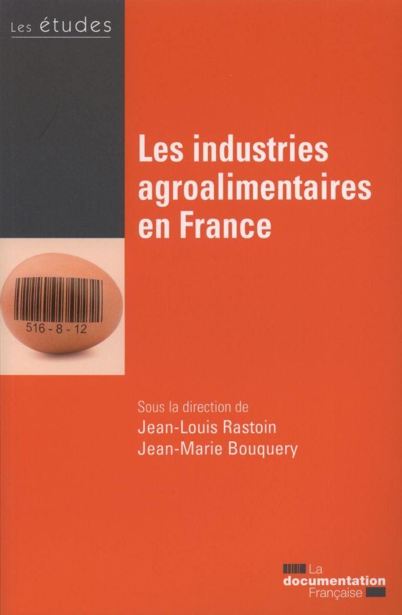LES INDUSTRIES AGROALIMENTAIRES EN FRANCE - ETUDES DE LA DF N5408-09