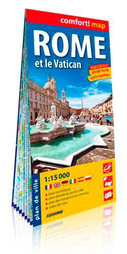 ROME ET LE VATICAN 1/15.000 (CARTE GRAND FORMAT, L