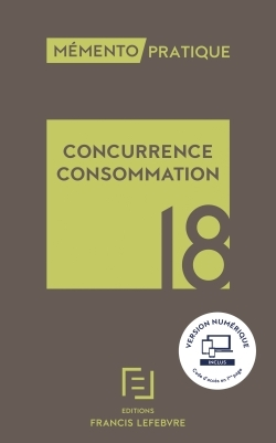 MEMENTO CONCURRENCE-CONSOMMATION 2018