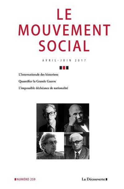 LE MOUVEMENT SOCIAL NUMERO 259 VARIA