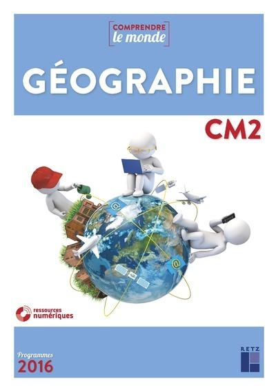 GEOGRAPHIE CM2 NE + EVALUATIONS + CD-ROM