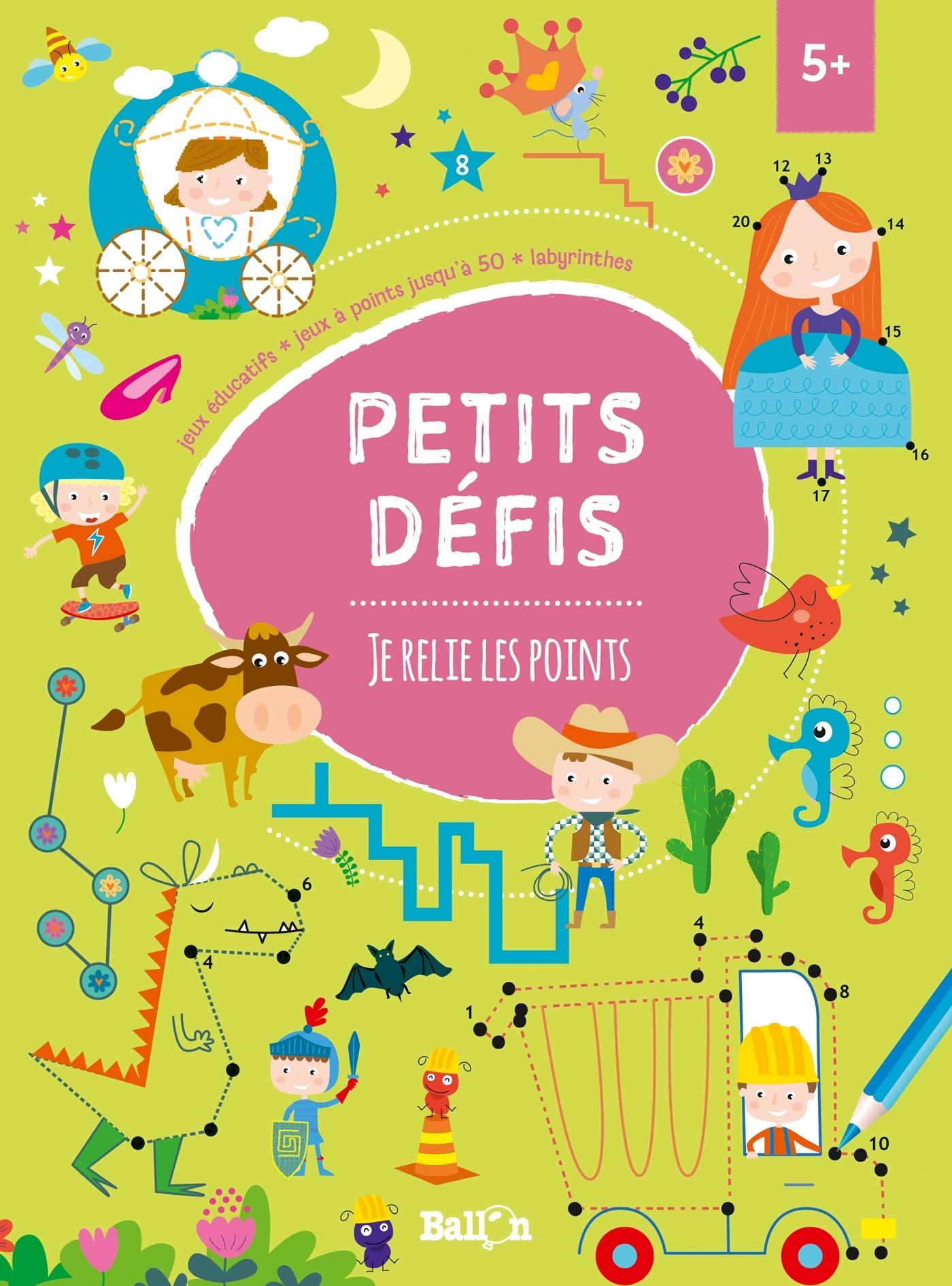 PETITS DEFIS : JE RELIE LES POINTS