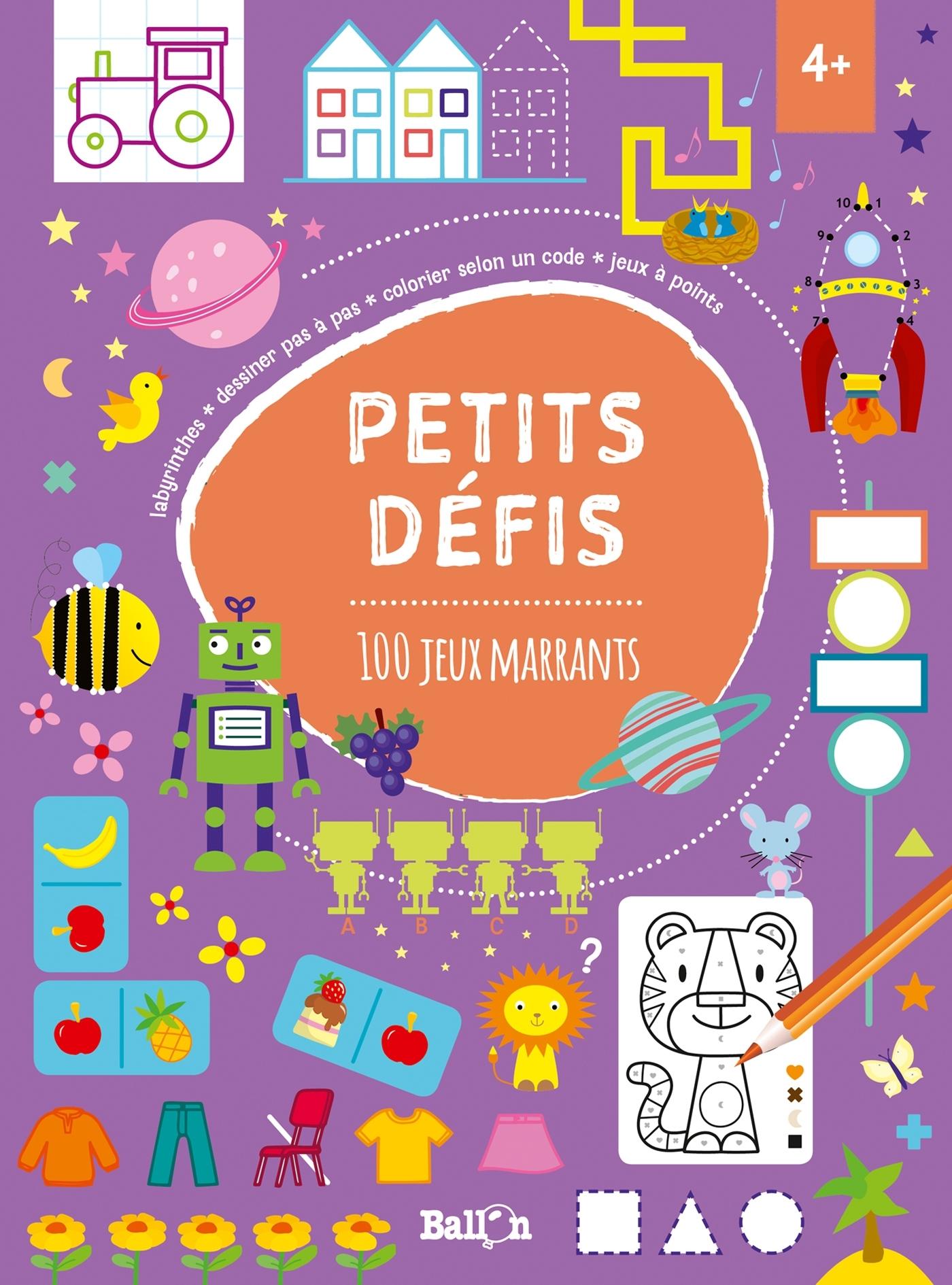 PETITS DEFIS: 100 JEUX MARRANTS
