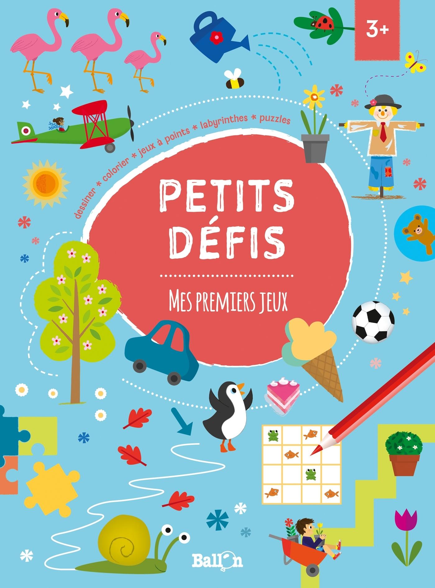 PETITS DEFIS : MES PREMIERS JEUX