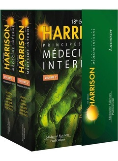 HARRISON - PRINCIPES DE MEDECINE INTERNE (18. ED.) (2 VOLUMES INSEPARABLES)