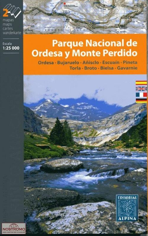 P.N. DE ORDESA Y MT PERDIDO (2 CARTES)
