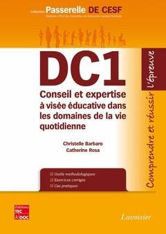 DC1 CONSEIL ET EXPERTISE A VISEE EDUCATIVE DANS LES DOMAINES DE LA VIE QUOTIDIENNE (COLLECTION PASSE