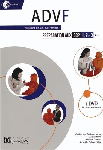 ADVF PARTICIPATION AUX CCP 1 2 3 + DVD