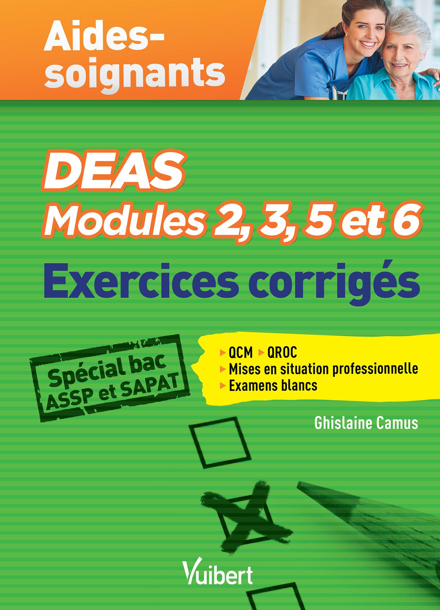 DEAS MODULES 2 3 5 ET 6 EXERCICES CORRIGES