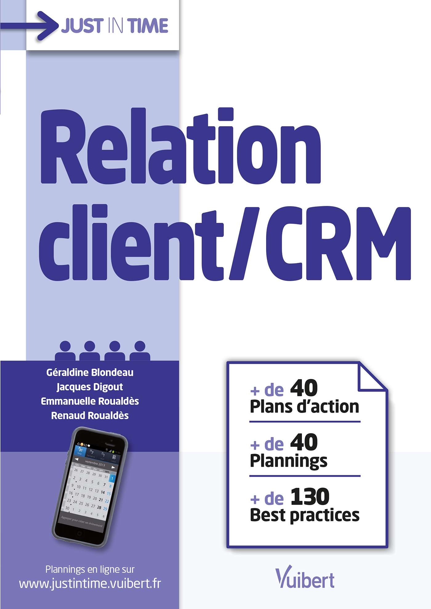 RELATION CLIENT CRM JUST IN TIME