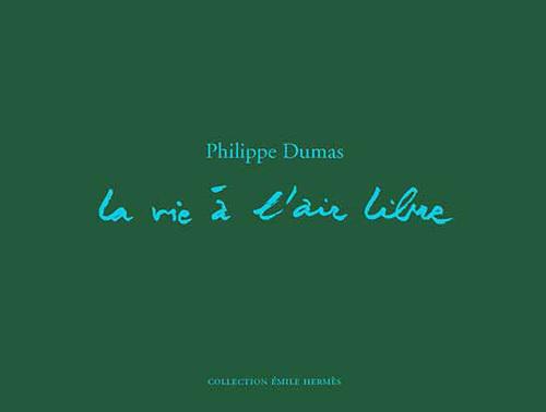 CARNET DE CROQUIS DE PHILIPPE DUMAS ILLUSTRANT LE THEME LA VIE A L'AIR LIBRE MUSEE HERMES