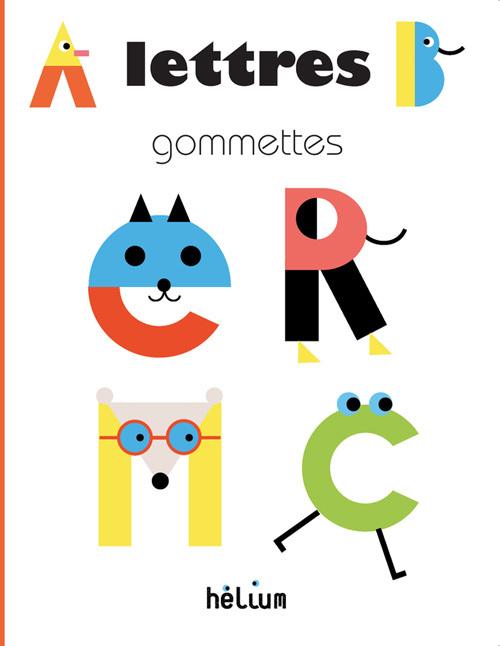 LETTRES GOMMETTES