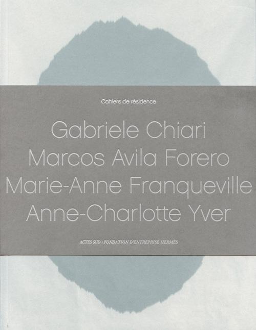 CAHIER DE RESIDENCE 4 - 4V+CD (FR / ANG)