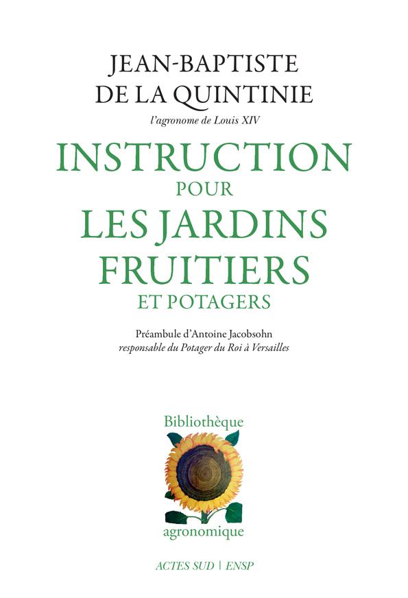INSTRUCTION POUR LES JARDINS FRUITIERS ET POTAGERS (NE)