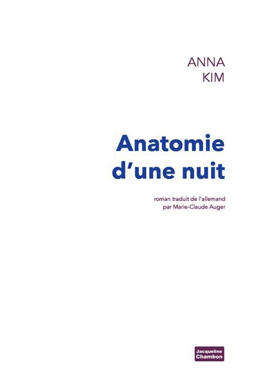 ANATOMIE D'UNE NUIT ROMAN
