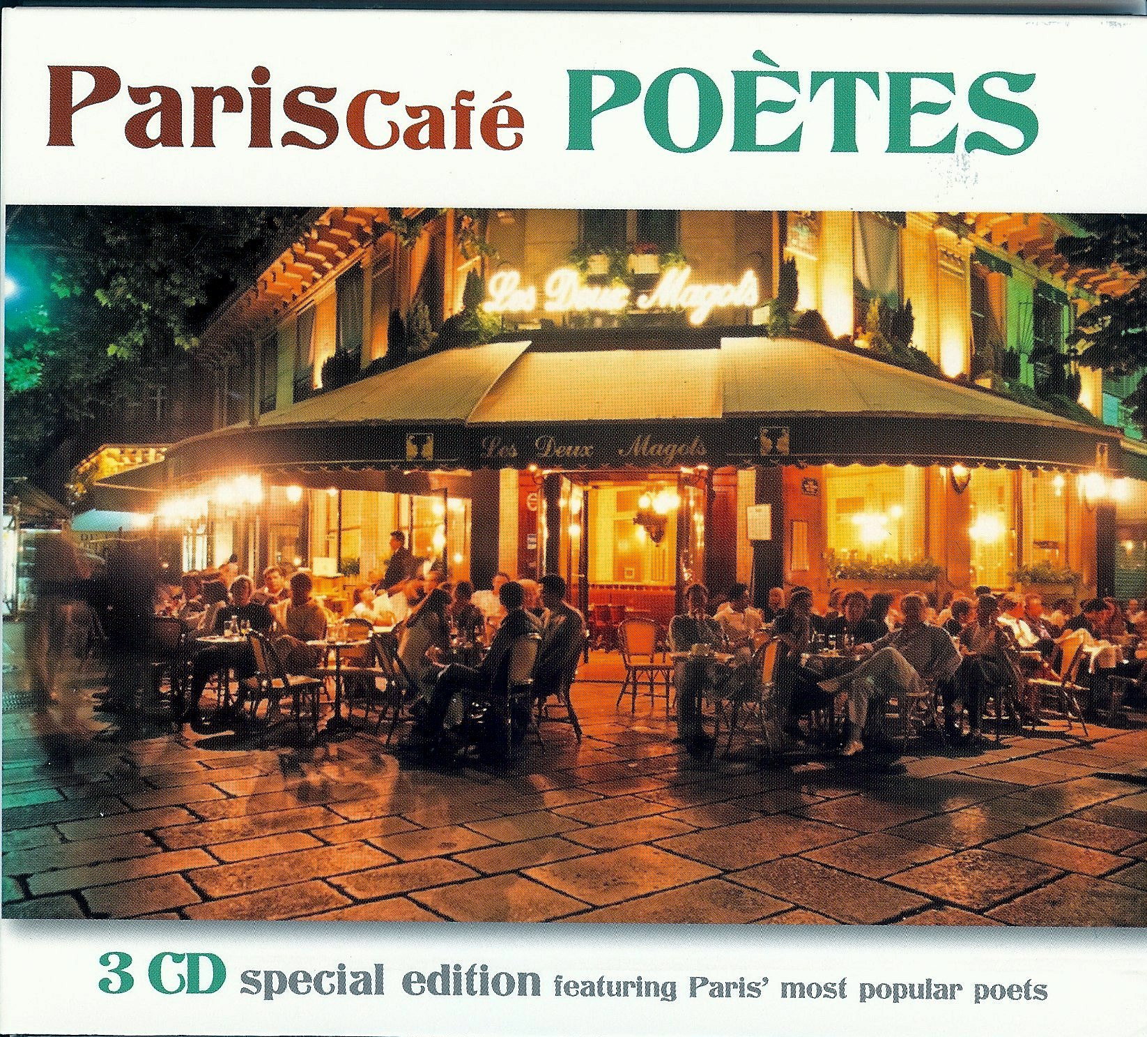 PARIS CAFE POETES
