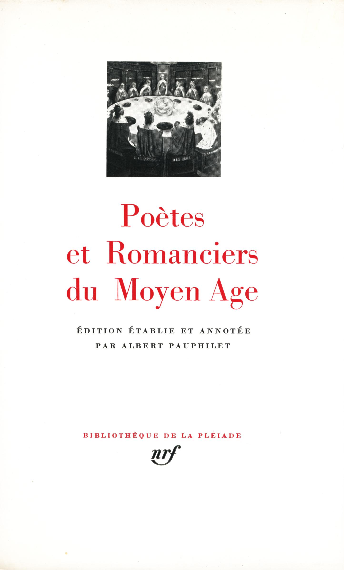 POETES ET ROMANCIERS DU MOYEN AGE